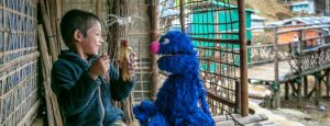 Sesame Workshop debuts its first ever Rohingya Muppets for refugee children